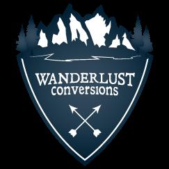 Wanderlust Conversions